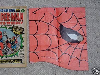 Spider-Man Comics Weekly TV Advert 1973? Scw1freegift