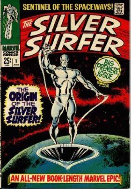 Marvel - The 1960's Silversurfer1
