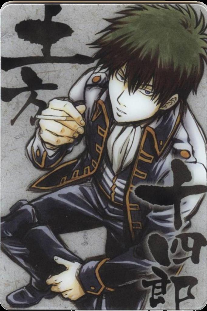 Top 10 (ou plus) des plus beaux personnages! Gintama-Hijikataintense