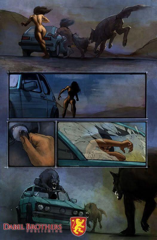 Patricia Briggs : Les comic books Mercy-pg3