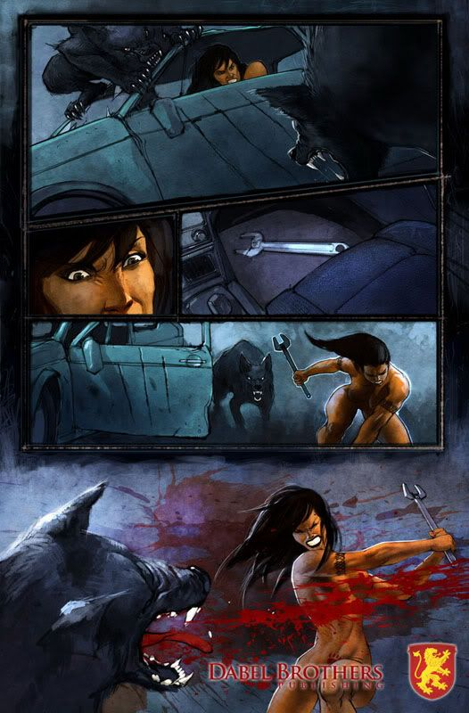 Patricia Briggs : Les comic books Mercy-pg4