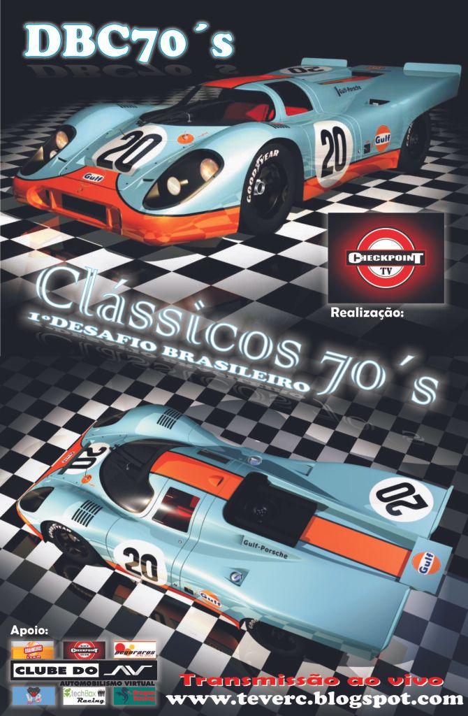 1º Desafio Brasileiro de Classicos 1970 Dbc70s