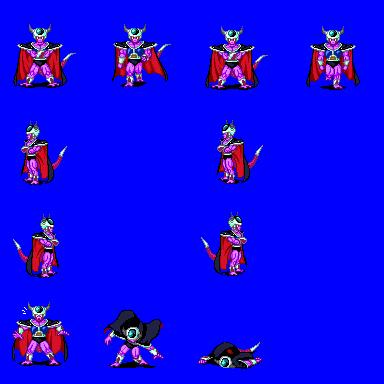 Alguns personagens para dragon ball. Kingcold