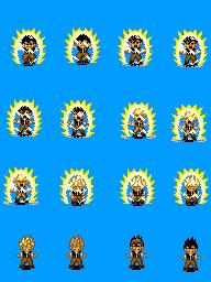 Alguns personagens para dragon ball. Gohan