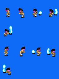 Alguns personagens para dragon ball. Gotenksrightleft