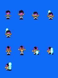 Alguns personagens para dragon ball. Gotenksupdown