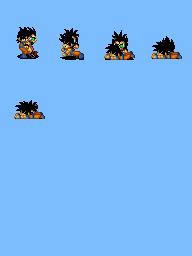 Alguns personagens para dragon ball. Raditzgoku
