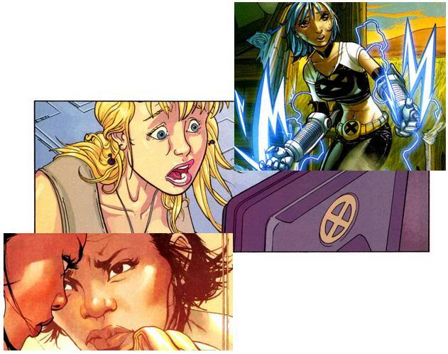 X-Men - Nº 100 (Abril/2010) Divided01