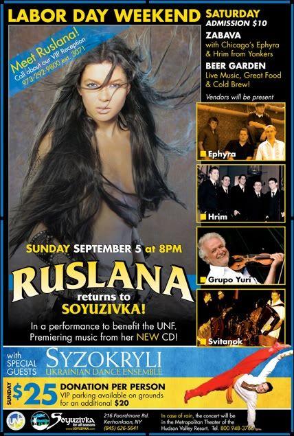 Concierto en USA // Concert in USA Soyuzivka