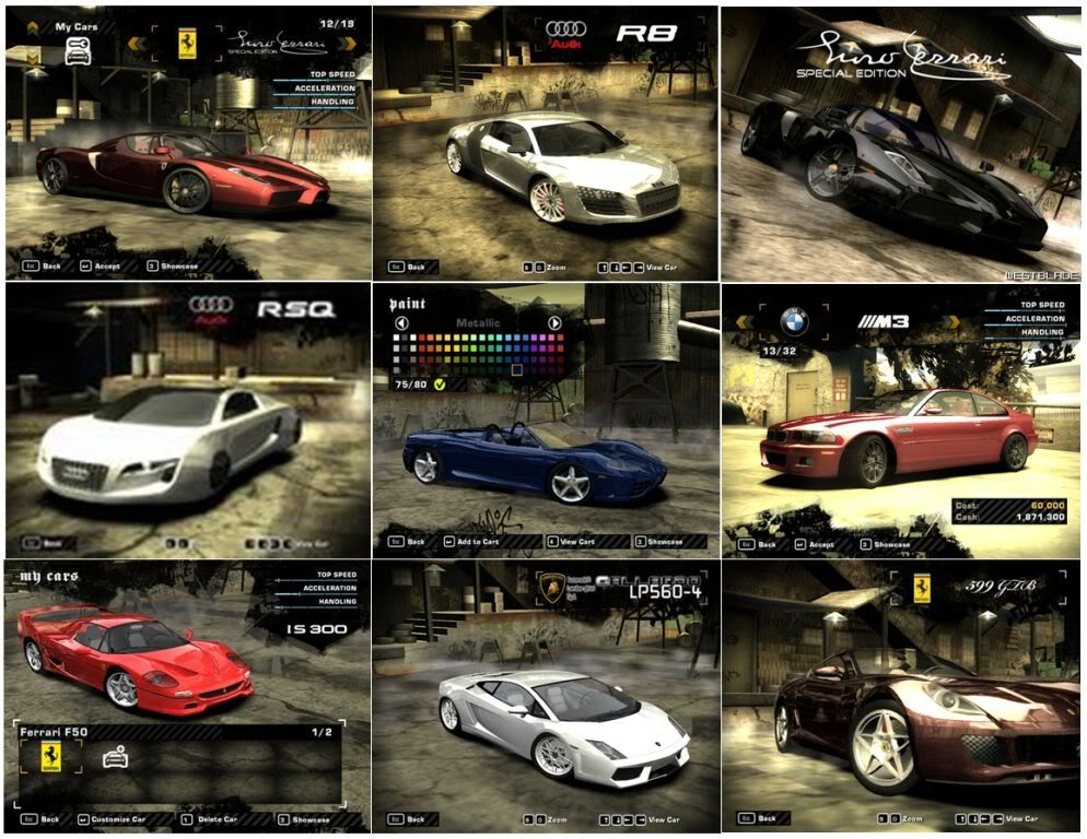 Need For Speed Most Wanted + Black Edition + Hackeador (PC) Carrosmostwuanted1