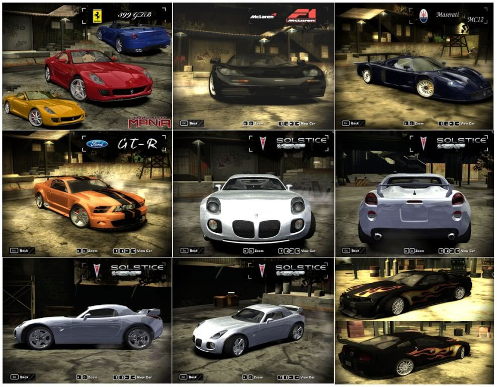 Need For Speed Most Wanted + Black Edition + Hackeador (PC) Carrosmostwuanted2