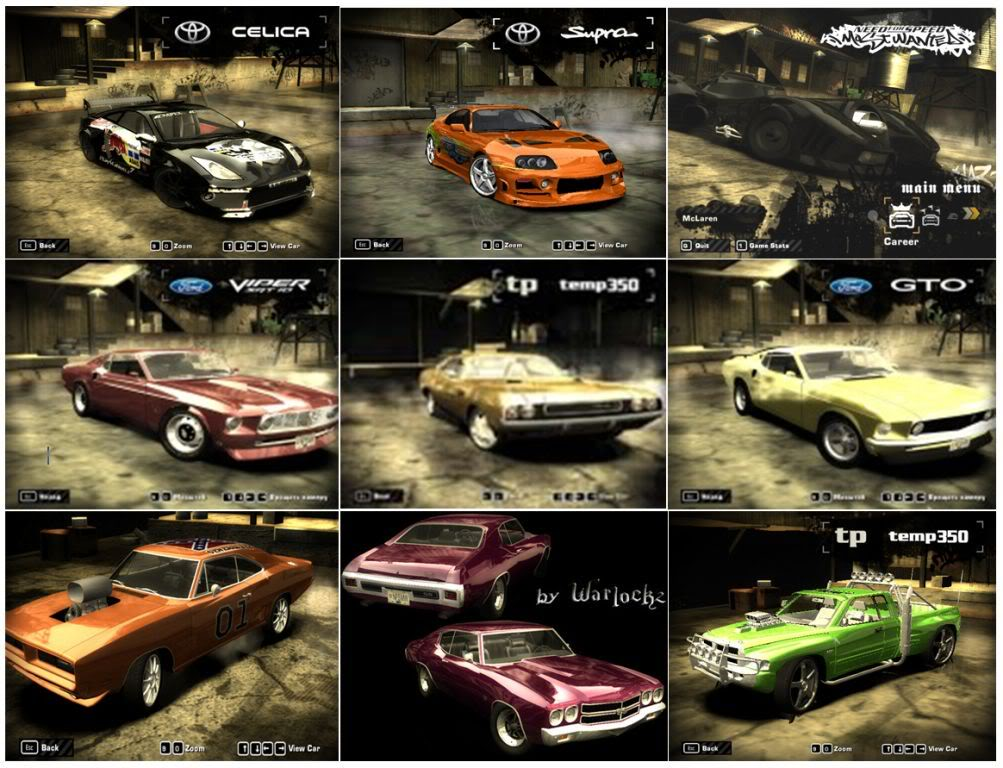 Need For Speed Most Wanted + Black Edition + Hackeador (PC) Carrosmostwuanted4