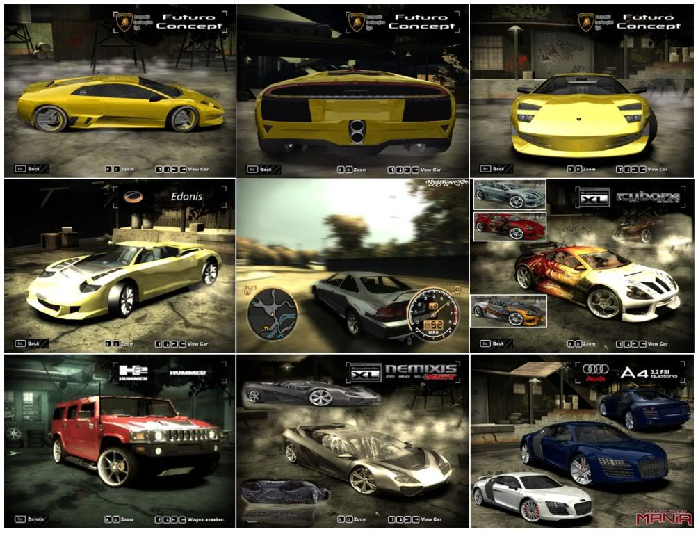 Need For Speed Most Wanted + Black Edition + Hackeador (PC) Carrosmostwuanted5