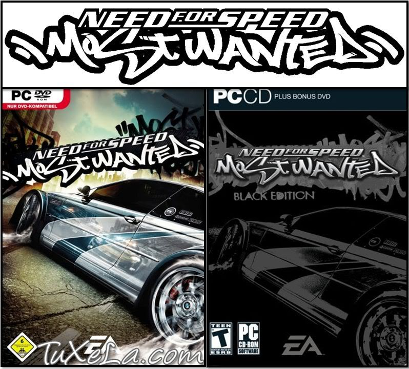 Need For Speed Most Wanted + Black Edition + Hackeador (PC) Mostwanted