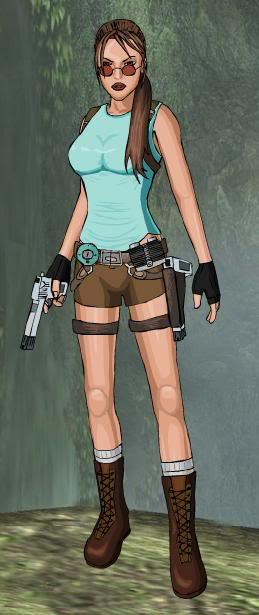Dress up Lara Croft Laratr9