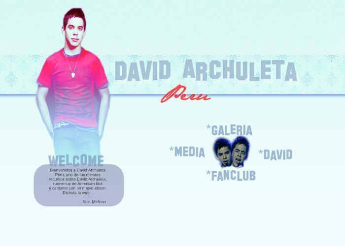 David Archuleta Peru