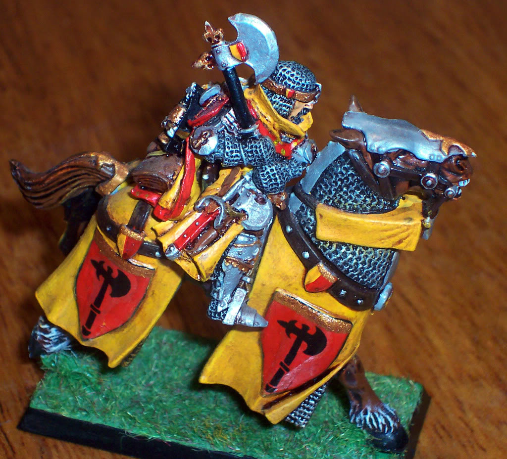 Bretonnian Lord with Great Weapon Imagen106