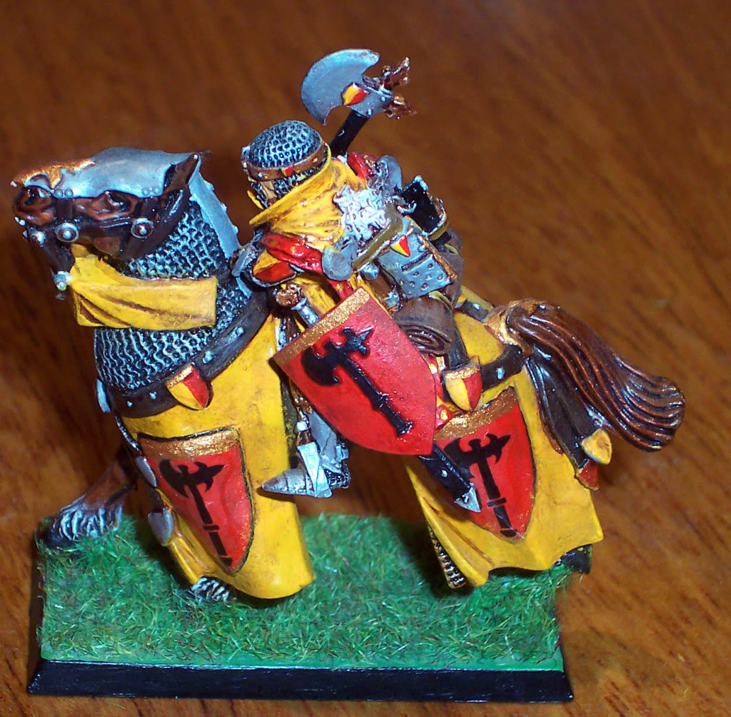 Bretonnian Lord with Great Weapon Imagen108