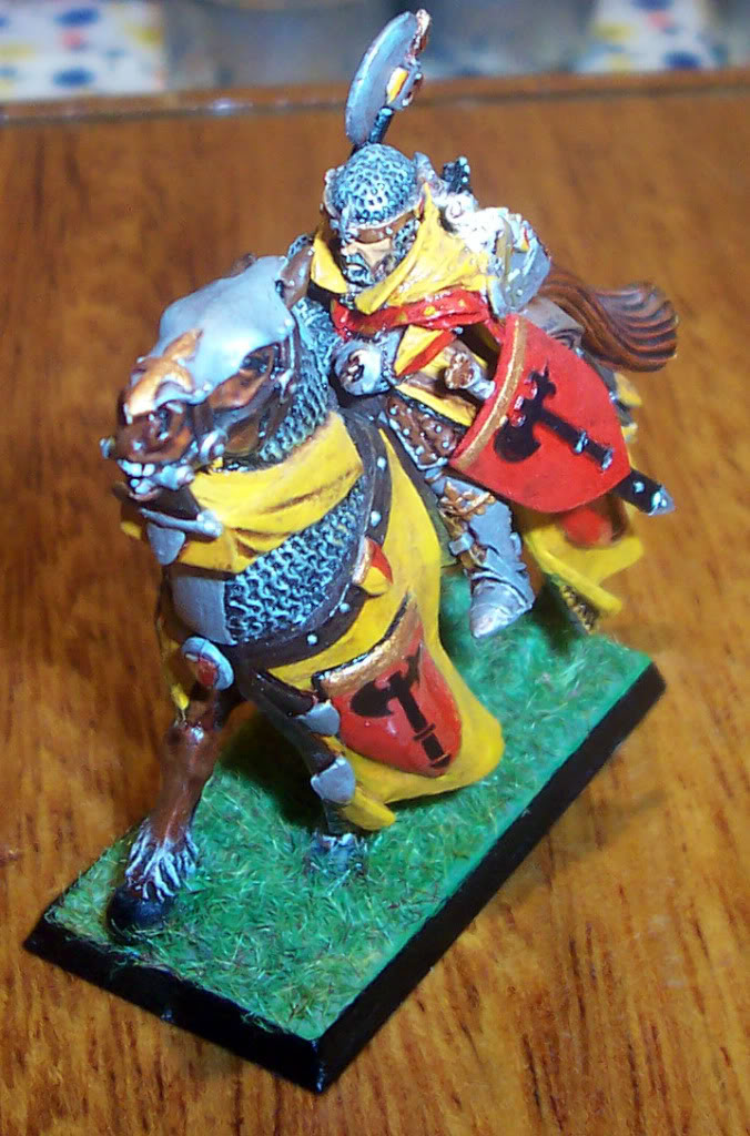 Bretonnian Lord with Great Weapon Imagen112