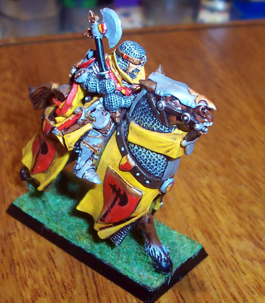 Bretonnian Lord with Great Weapon Imagen113