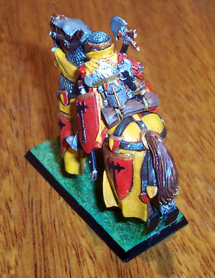 Bretonnian Lord with Great Weapon Imagen116