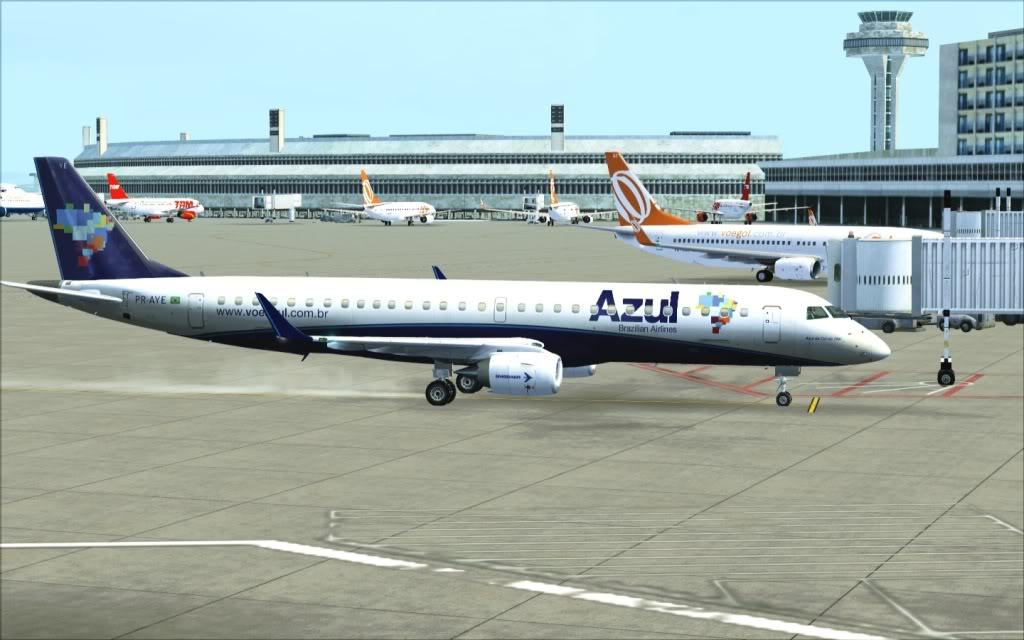 [FSX] SP-RJ com a AZUL 20