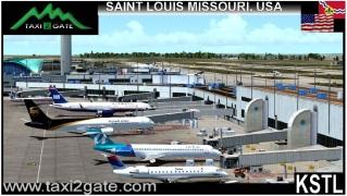 TAXI2GATE - St. Louis Intl Airport KSTL