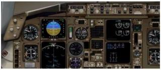 Level-D Boeing 767 - Painel 2D Widescreen  LD767Panel