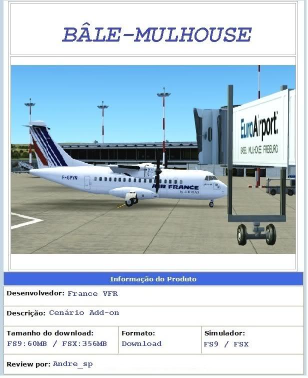 Bâle-Mulhouse (LFSB) da FranceVFR LFSB_Inicial
