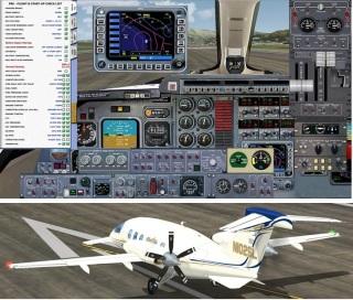 Piaggio P-180 V3.0 - Freeware Piaggio
