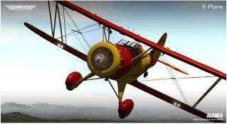 plane - Alabeo - Waco YMF5 X-Plane WacoXP