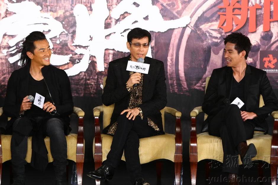 """[2011-8-18 & 19] """"Trung Liệt Dương Gia Tướng"""" khai máy, Trịnh Thiếu Thu lãnh đạo toàn bộ soái ca ra chụp hình Img2808742_n"""