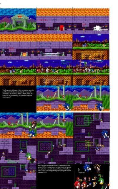 My Comic(one of two series!) Sonicspritecomic