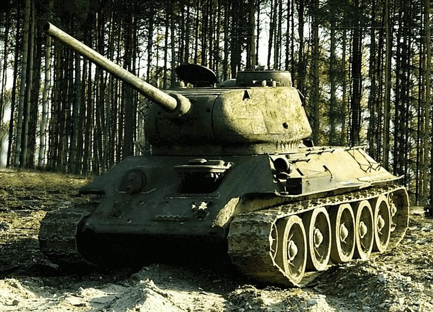 ¿Qué vehículo es? T-34