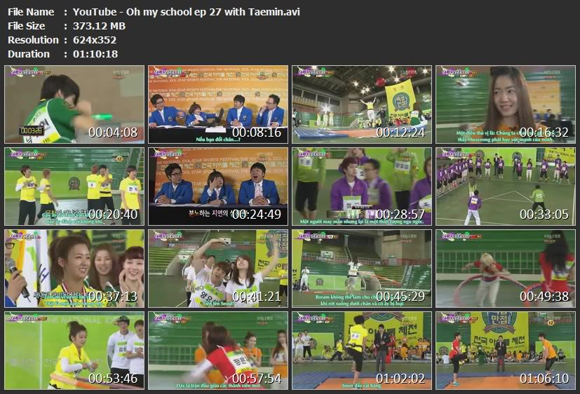 [Vietsub - S2] Oh My School  [update ep 26&27] YouTube-Ohmyschoolep27withTaeminavi