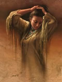 REINA MORENA. Native_Lady
