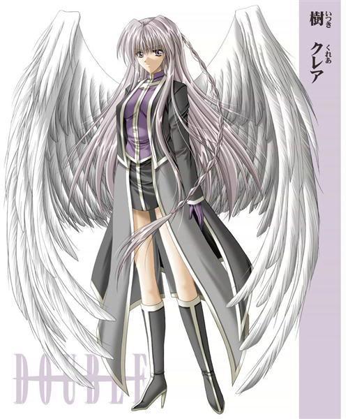 Akina(no last name) PurpleSilverAngel