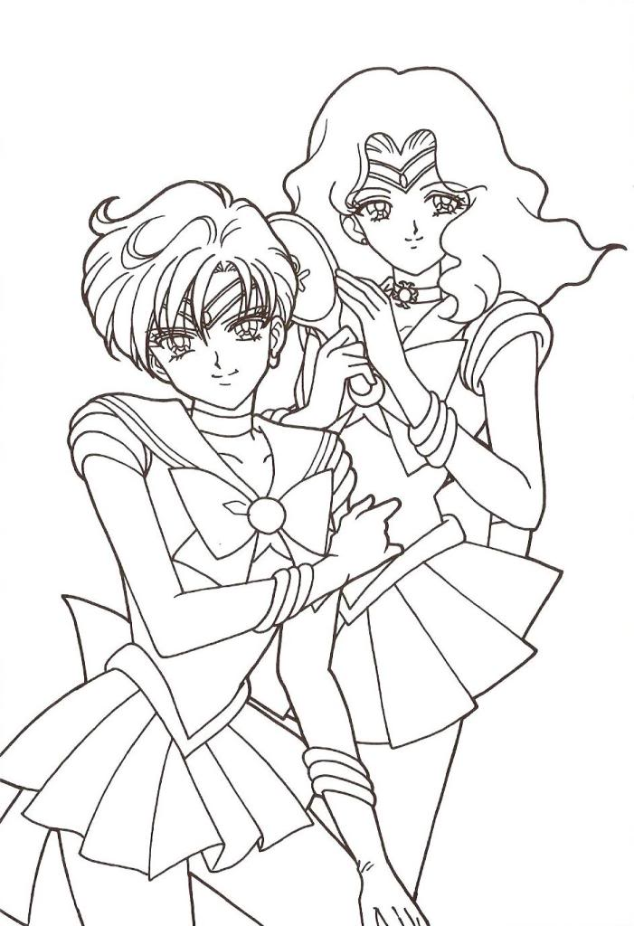 Sailor Moon Coloring Page Contest Tuesday Page7