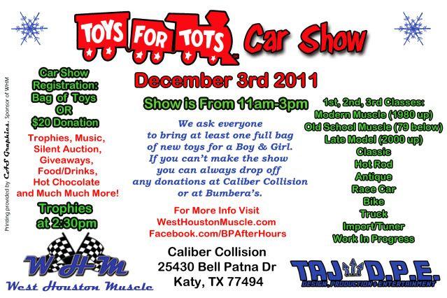 Toys For Tots Car Show December 3rd 2011 TOYSFORTOTS-1