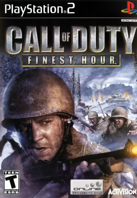 The Games(In Order) Ps2callofdutyfinesthout