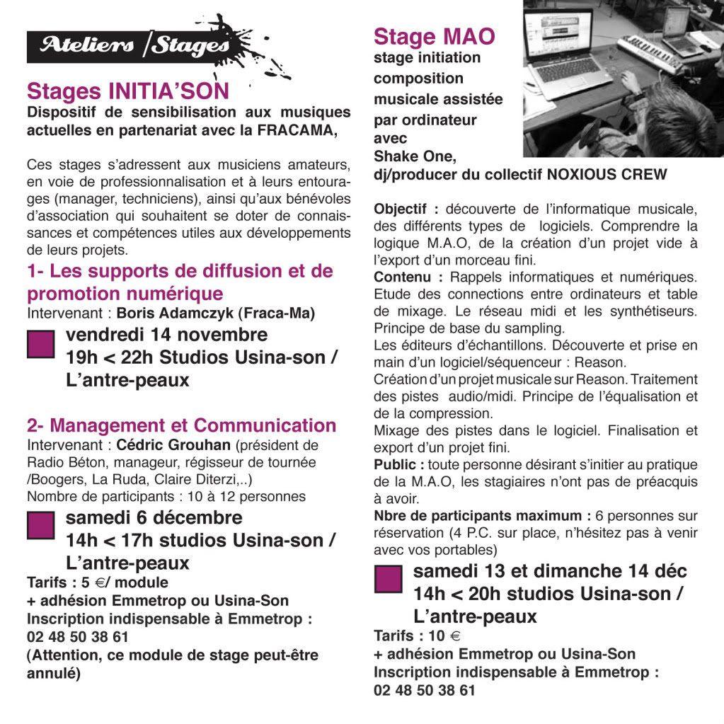 stages et formation emmetrop/fracama Stage2008-1