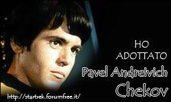 Adottini star trek Chekov