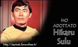 Adottini star trek Sulu