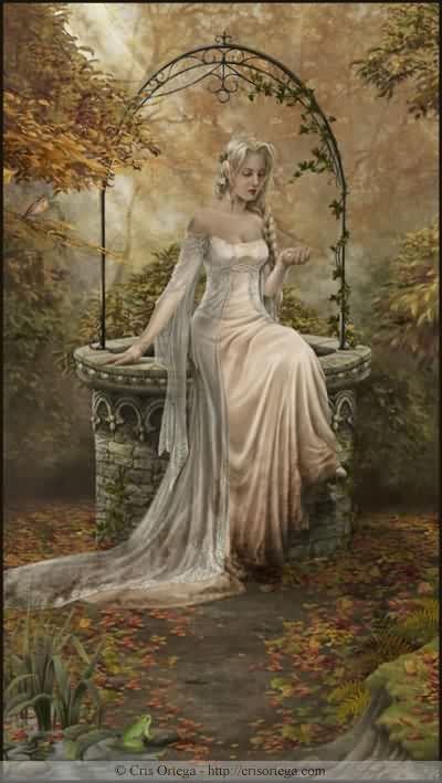 Fantasy und Mittelalter Glittergifs^^ Wellwoman