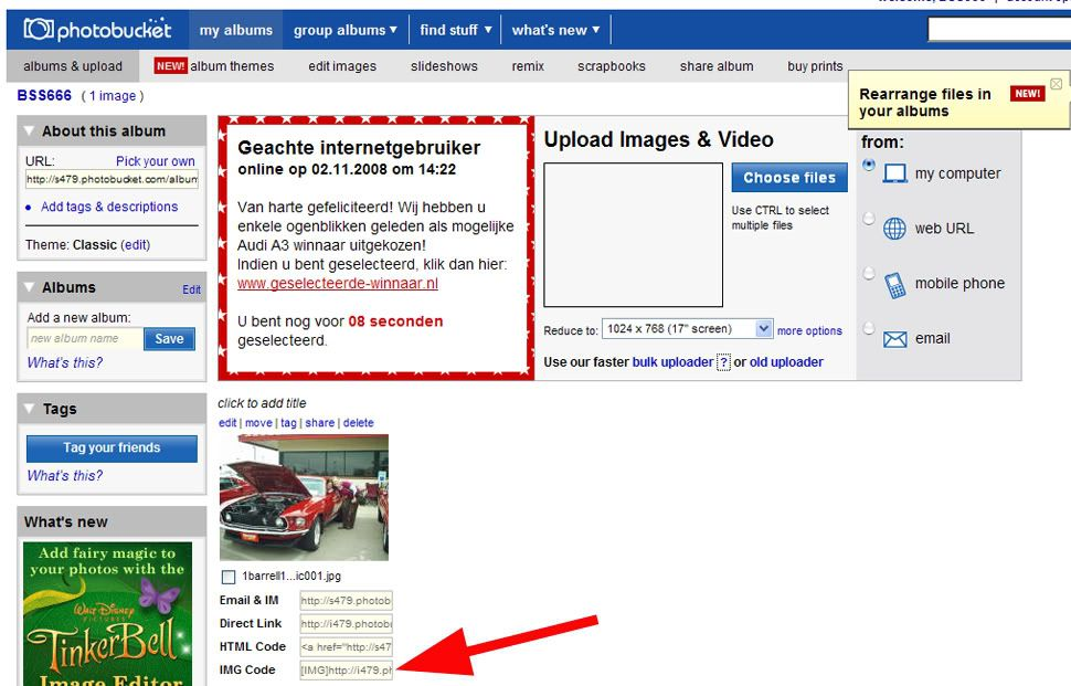 How to: add pictures in a topic 7