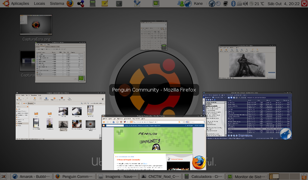 Instalar Ubuntu no Eee PC 901 e configurar o sistema CapturaEcra-2