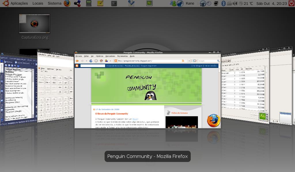 Instalar Ubuntu no Eee PC 901 e configurar o sistema CapturaEcra-3