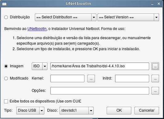 Linux numa PEN ou cartão de memória Screenshot3-4