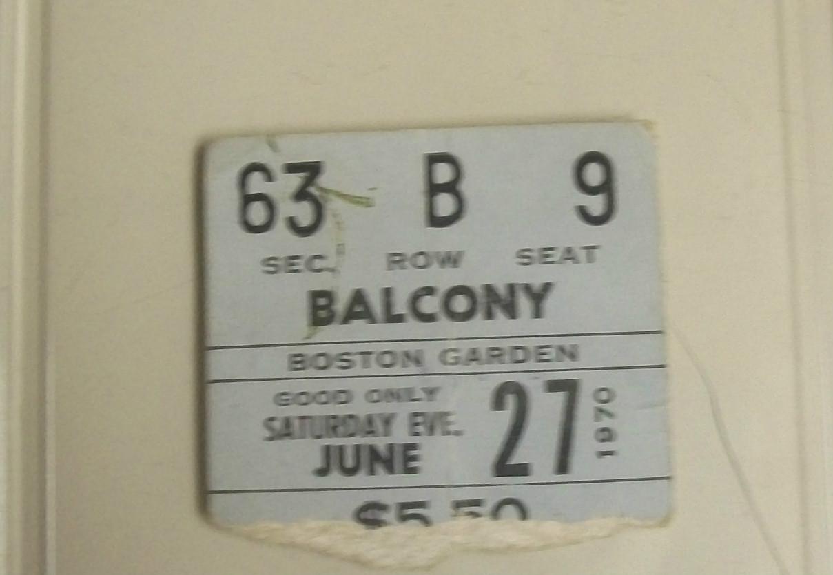 Boston (Boston Garden) : 27 juin 1970 8aabb1f16cd8e4640af5b56ca4daf4dc