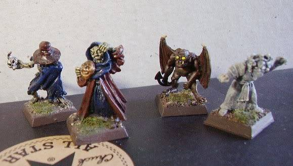 Undead warband Ghouls